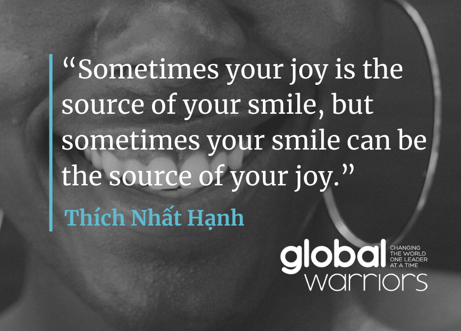 Thought for the week: A trick to finding joy