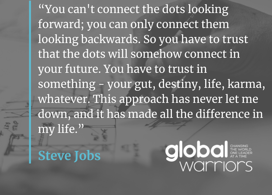 Thought for the week: This made all the difference to Steve Jobs