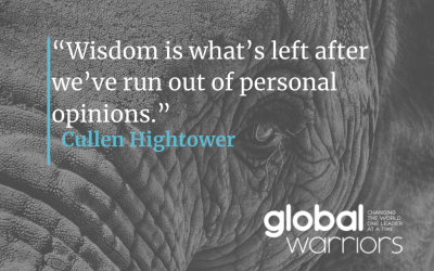 Thought for the week: True wisdom
